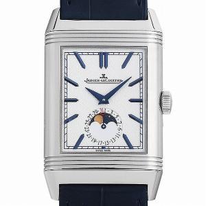 48回払いまで無金利 ジャガールクルト レベルソ トリビュート ムーン Q3958420(216.8.D3) 中古 メンズ 腕時計|ginzarasin