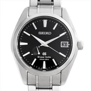 最大5万円オフクーポン配布 グランドセイコー スプリングドライブ マスターショップ限定 SBGA041 中古 メンズ 腕時計 48回払いまで無金利|ginzarasin