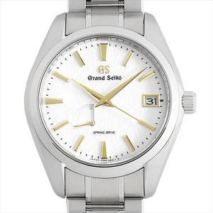 最大5万円オフクーポン配布 グランドセイコー 9R スプリングドライブ SBGA259 中古 メンズ 腕時計 48回払いまで無金利|ginzarasin