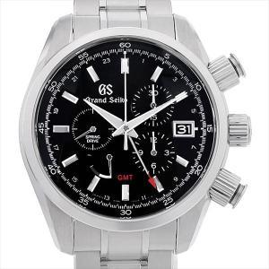 48回払いまで無金利 グランドセイコー スプリングドライブ クロノグラフGMT SBGC203 中古 メンズ 腕時計 ginzarasin