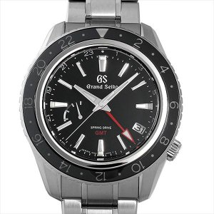 最大5万円オフクーポン配布 グランドセイコー スプリングドライブ GMT マスターショップ限定 SBGE201 中古 メンズ 腕時計 48回払いまで無金利|ginzarasin
