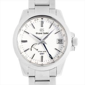 48回払いまで無金利 グランドセイコー 9R スプリングドライブ GMT SBGE209 中古 メンズ 腕時計 ginzarasin