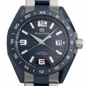 48回払いまで無金利 グランドセイコー ブルーセラミックス メカニカルハイビート36000 GMT マスターショップ限定 Cal.9S86-00J0 SBGJ233 中古 メンズ 腕時計 ginzarasin