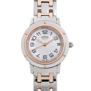 最大5万円オフクーポン配布 エルメス クリッパーナクレ W035321WW00(CP1.221) 中古 レディース 腕時計 48回払いまで無金利|ginzarasin