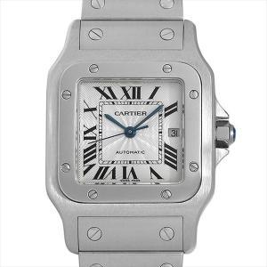 48回払いまで無金利 カルティエ サントス ガルベ LM W20055D6 中古 メンズ 腕時計|ginzarasin