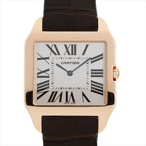 48回払いまで無金利 カルティエ サントス デュモン LM W2006951 中古 メンズ 腕時計|ginzarasin