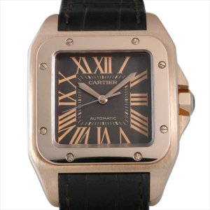 48回払いまで無金利 SALE カルティエ サントス100 W20127Y1 中古 メンズ 腕時計|ginzarasin