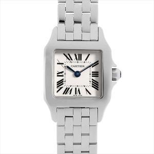 48回払いまで無金利 カルティエ サントス ドゥ モワゼル SM W25064Z5 中古 レディース 腕時計|ginzarasin