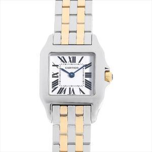48回払いまで無金利 カルティエ サントス ドゥ モワゼル SM W25066Z6 中古 レディース 腕時計|ginzarasin