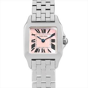48回払いまで無金利 カルティエ サントス ドゥ モワゼル W25075Z5 中古 レディース 腕時計|ginzarasin