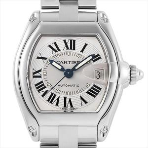 48回払いまで無金利 カルティエ ロードスター LM W62000V3 中古 メンズ 腕時計|ginzarasin