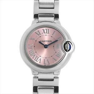 48回払いまで無金利 カルティエ バロンブルー SM W6920038 中古 レディース 腕時計|ginzarasin