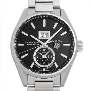 60回払いまで無金利 タグホイヤー カレラ グランドデイト GMT WAR5010.BA0723 中古 メンズ 腕時計|ginzarasin