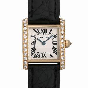 48回払いまで無金利 カルティエ タンクフランセーズSM WE100151 中古 レディース 腕時計|ginzarasin
