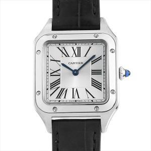 48回払いまで無金利 カルティエ サントスト デュモン SM WSSA0023 中古 ボーイズ(ユニセックス) 腕時計|ginzarasin