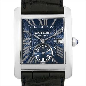 48回払いまで無金利 カルティエ タンクMC WSTA0010 中古 メンズ 腕時計|ginzarasin