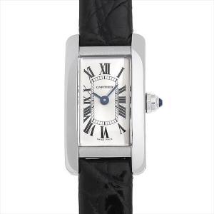 48回払いまで無金利 カルティエ ミニ タンクアメリカン WSTA0032 中古 レディース 腕時計|ginzarasin