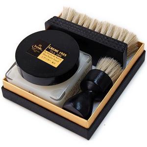 靴磨きセット サフィール ノワール クレム1925 セット Saphir Noir シューケアセット ボックス|ginzatiger