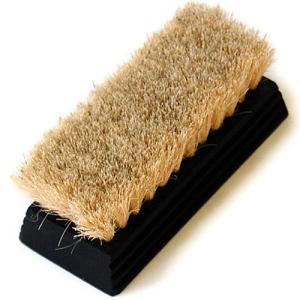 (LB)ミニヘアブラシ 豚毛ブラシ 靴磨き ブラシ ginzatiger