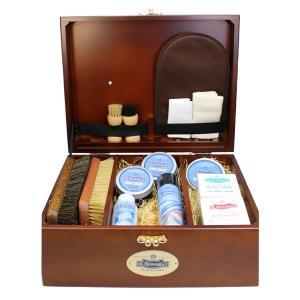【送料無料】 靴磨きセットM.MOWBRAY Rセット+ シューケアボックス モゥブレィ エム モウブレイシューケアセット 木箱|ginzatiger