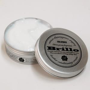 コロンブス ブリオ レザーコンディショニングクリームは、プルプルとしたジェル状クリームで皮革をケアす...