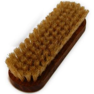 靴 ブラシ 豚毛 コロンブス ジャーマンブラシ No, 5 Columbus 靴磨き ブラシ  豚毛ブラシ 白|ginzatiger