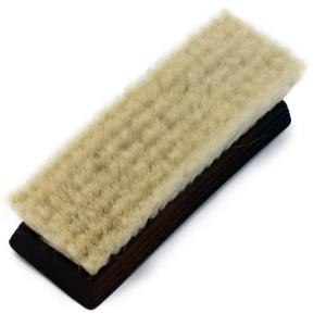 (LB) フィニッシャーブラシ 山羊毛+PET(化繊)混合ブラシ 靴磨き仕上げ用 ginzatiger
