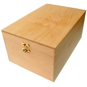 【木箱のみの単品販売】シューケア ボックス ブナ製 BOX (シューケア用品、靴磨きセット、シューケアセットの収納ボックス)|ginzatiger