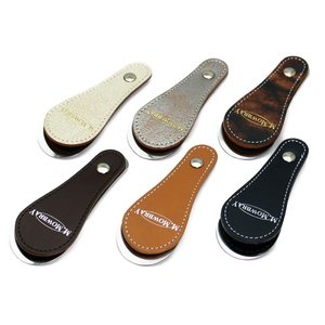 靴磨き好きも愛用 靴べら 携帯用 おしゃれ 革 M.MOWBRAY モゥブレィ モウブレイ リミテッドシューホーン 2020(限定品)(クリックポスト対応) ginzatiger