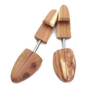 靴磨き後はシューキーパー ARC シュートリー コロンブス アロマティックシダー 木製 メンズ シューツリー Columbus|ginzatiger