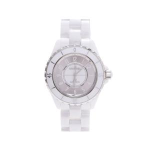 シャネル CHANEL J12 白セラ H4862 ミラー 自動巻 1200本限定 時計 中古|ginzo1116