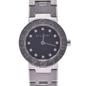 BVLGARI ブルガリ ブルガリブルガリ23 12Pダイヤ BB23SS レディース SS 腕時計...