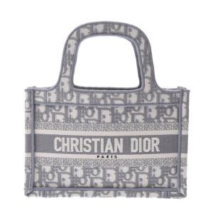 Christian Dior ディオール ハウンドトゥース エンブロイダリー ブックトートバッグ ス...