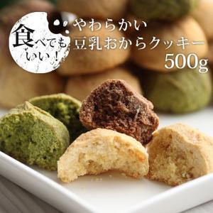 500g  しっとりやわらか 美味しい おからクッキー  豆乳おからクッキー 1袋 メール便A TSG 送料無料 TN|ginzou
