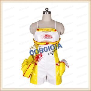 VOCALOID ボーカロイド レーシングリン2010 rin コスプレ衣装 イベント コスチューム クリスマス ハロウィン パーティー 週末ヒロイン ギフト 誕生日|gioia