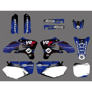 YZ250F GRAPHIC KIT STICKERS YZF250 YZ 250 F GRAPHICS YZF450
