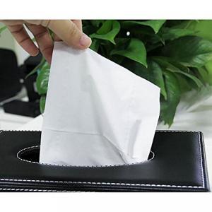 バスルーム 収納 Leather Tissue Box Cover Home Car Napkin ...