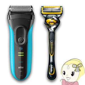 ブラウン シリーズ3 3040s-P1 メンズ電気シェーバー シェーバー単体モデル お風呂剃り対応 ...