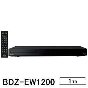 ソニー 1TB HDD内蔵 ブルーレイレコーダー BDZ-EW1200|gion