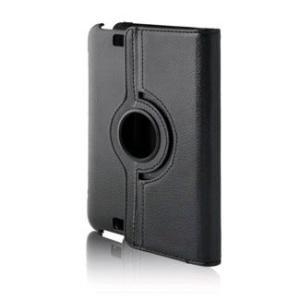 ブライトンネット Kindle Fire HD用レザーリングスタンドケース ブラック BM-KINF...