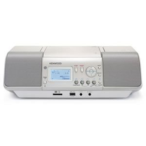 ケンウッド CLX-30-W iPod/iPhone対応 CD/SD/USBパーソナルオーディオシステム ホワイト