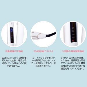【あすつく】在庫限り 絹女 海外対応ストレートアイロン KINUJO W worldwide model DS100|gion|03