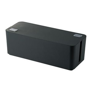 ELECOM エレコム   ケーブルボックス 6個口  EKC-BOX001BK