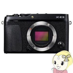 富士フイルム FUJIFILM ミラーレス一眼カメラ X-E3 ボディ [ブラック]
