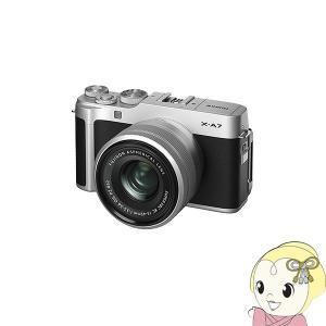 [予約]FUJIFILM ミラーレス 一眼カメラ X-A7 レンズキット [シルバー]