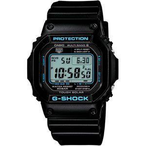 カシオ 電波受信 ソーラー 腕時計 G-SHOCK BLACK × BLUE Series GW-M5610BA-1JF|gion