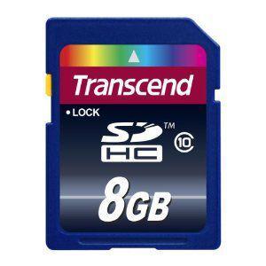 TS8GSDHC10  トランセンドSDHCメモリカード  8GB・Class10