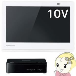 UN-10E7-W パナソニック 10V型ポータブルテレビ ...