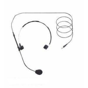 携帯型送信機WM−1100専用のヘッドセットマイクロホンです。 [付属品] 収納ケース…1、ウインド...