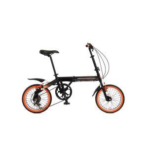 【メーカー直送】104BLACKBULLET2 ドッペルギャンガー 16インチ折りたたみ自転車 104 blackbullet II|gioncard